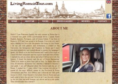 Living Rome In Tour - About me