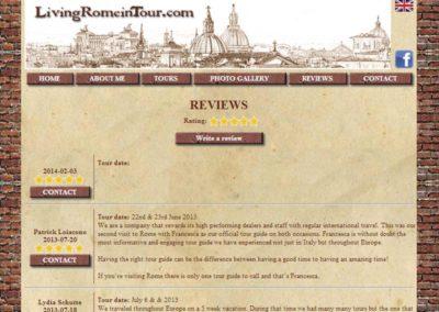 Living Rome In Tour - Commenti