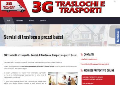 3G Traslochi e Trasporti