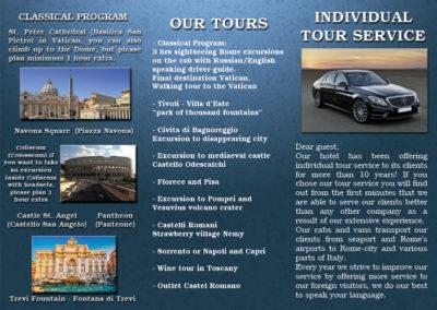 Brochure tours