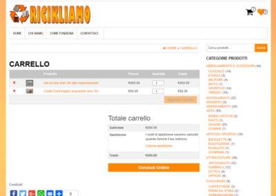Ricikliamo - Carrello