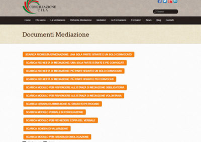 Conciliazione CILA - Documenti