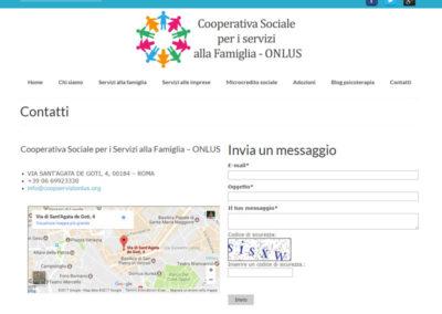 CoopServiziOnlus - Contatti