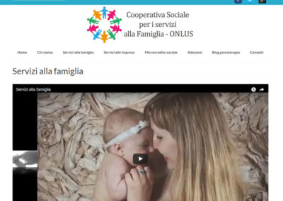 CoopServiziOnlus - Servizi famiglia