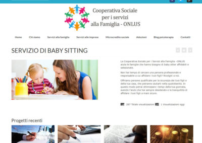 CoopServiziOnlus - Servizio