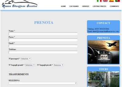 Roman Chauffeur Service - Prenota