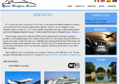 Roman Chauffeur Service - Servizi