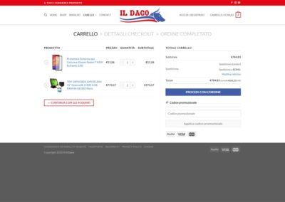 ilDaco - Carrello